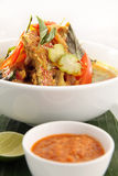 Fish soup asian food Royalty Free Stock Photography