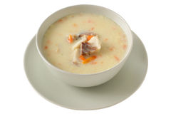Fish soup in a bowl Royalty Free Stock Photo
