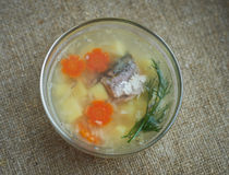 Fish soup  Royalty Free Stock Photography