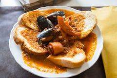 Fish soup, fish soup Stock Photo