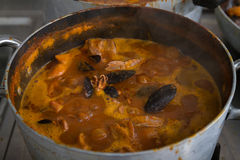 Fish soup, fish soup Stock Photo