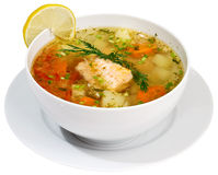 Fish soup Royalty Free Stock Photo