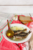 Fish soup in the kitchen Royalty Free Stock Image