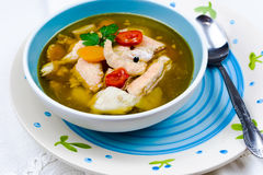 Fish soup Stock Photography