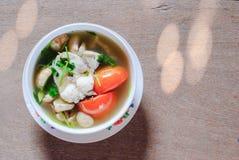 Fish soup Royalty Free Stock Photo