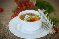 Fish soup Royalty Free Stock Images