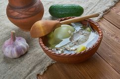 Fish soup with whitefish. close up Royalty Free Stock Image