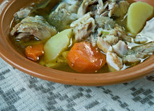 Fish soup with whitefish Royalty Free Stock Image