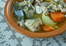 Fish soup with whitefish Stock Image