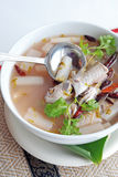 Fish sour soup Stock Image