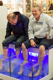 Fish Spa pedicure Stock Images