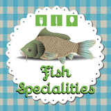 Fish specialities Stock Photos