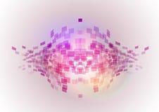 Fish squares stock illustration