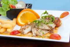 Fish steak Stock Image