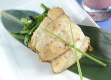 Fish steak Royalty Free Stock Image