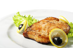 Fish Steak Royalty Free Stock Images