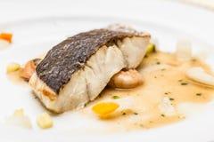 Fish steak Royalty Free Stock Photography
