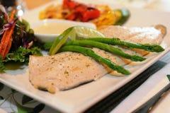 Fish Steak Royalty Free Stock Photo