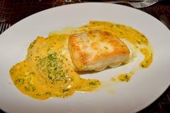 Fish steak. A little bit of Maltese food Stock Photo