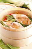 Fish steamed Royalty Free Stock Photo