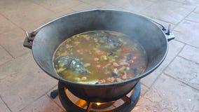 Fish stew Royalty Free Stock Image