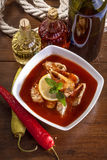 Fish stew Royalty Free Stock Images