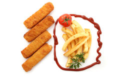 Fish stick Royalty Free Stock Image