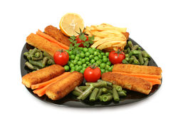 Fish stick stock photo