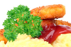Fish stick. Royalty Free Stock Images
