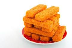 Fish sticks Stock Images