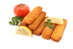Fish sticks Royalty Free Stock Photo