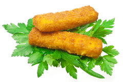 Fish sticks Stock Photos