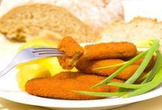 Fish sticks royalty free stock image