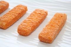 Fish sticks Stock Photo