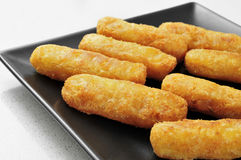 Fish sticks Royalty Free Stock Photography