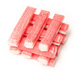 Fish sticks or crab sticks, Stock Image