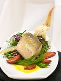 Fish Supreme with Vegetables Stock Image