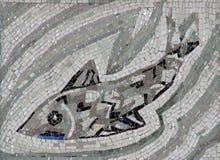 Fish symbol of Christianity Stock Image