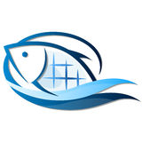 Fish symbol Royalty Free Stock Photography
