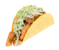 Fish Taco Isolated Royalty Free Stock Images