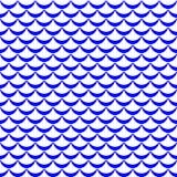 Fish tail or mermaid scale  pattern. Regular seamless background. Fish scale pattern. Seamless pattern swatch. Marine fish skin net. Mermaid skin seamless Royalty Free Stock Photos