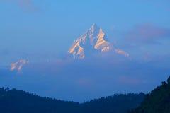 Fish tail mountain Annapurna stock photos