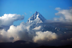 Fish tail mountain (Machapuchhre) Stock Photo