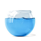 Fish tank. Filled with water Stock Image