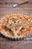 Fish tart Royalty Free Stock Photography
