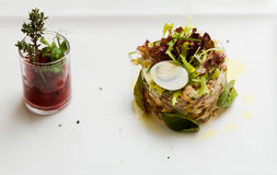 Fish tartare Royalty Free Stock Photography