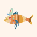 Fish theme elements vector,eps Royalty Free Stock Image