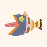 Fish theme elements vector,eps Stock Photos