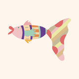Fish theme elements vector,eps Royalty Free Stock Photos