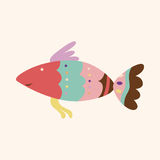 Fish theme elements vector,eps Stock Photography